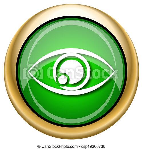 Eye icon - csp19360738