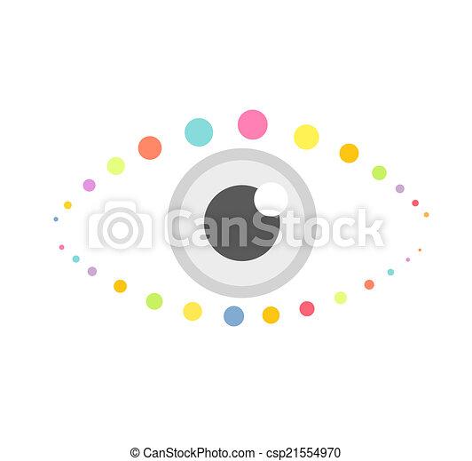 Eye icon - csp21554970
