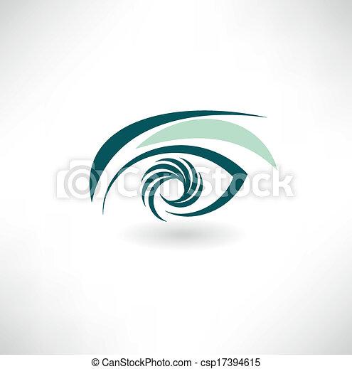 eye icon - csp17394615