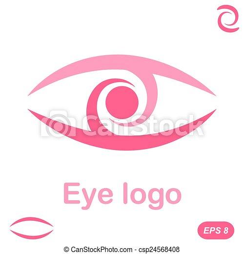 Eye logo conception - csp24568408