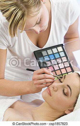 Eye Make Up - csp1857823