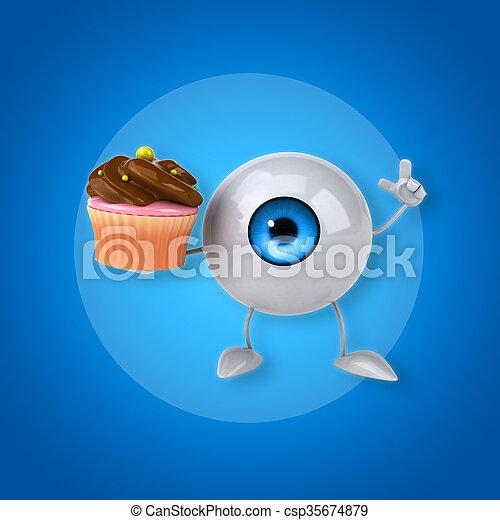 Eye - csp35674879