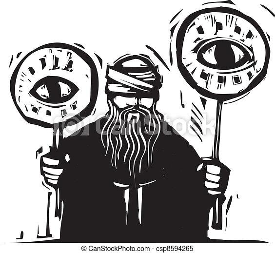 Eye Signs - csp8594265