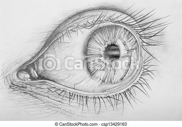 Eye - csp13429163