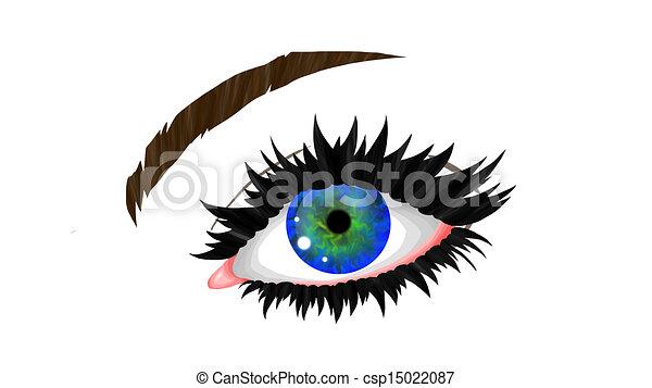 Eye - csp15022087