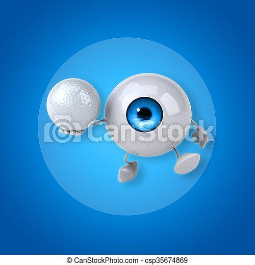 Eye - csp35674869