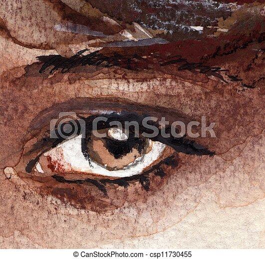eye, - csp11730455