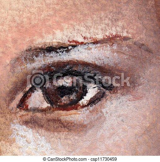eye,  - csp11730459