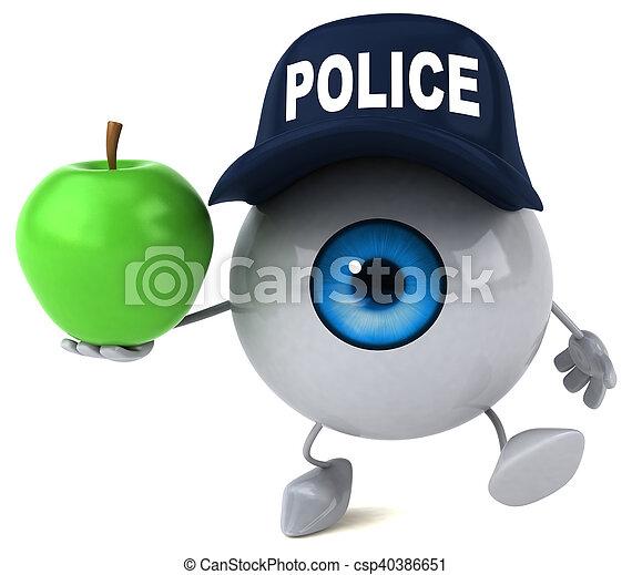 Eye - csp40386651