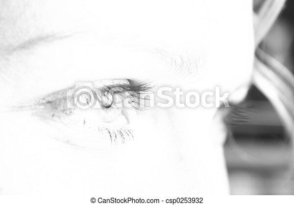 Eye - csp0253932