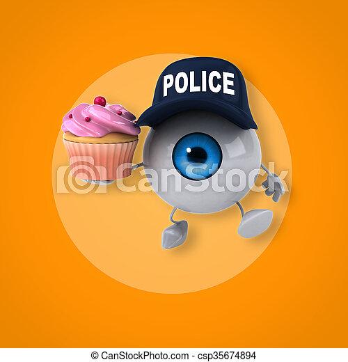 Eye - csp35674894