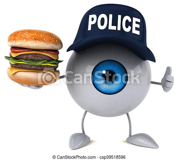 Eye - csp39518596