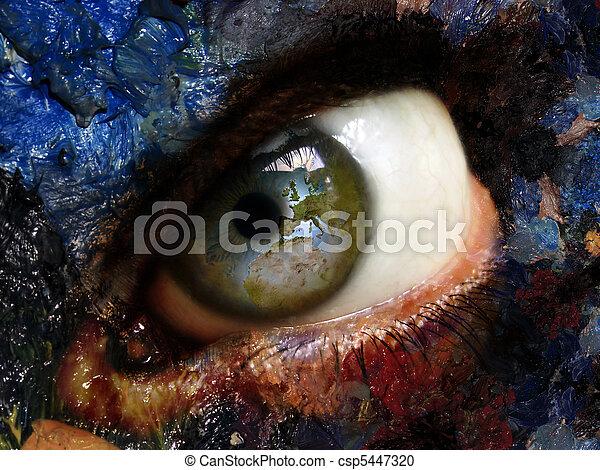 eye - csp5447320