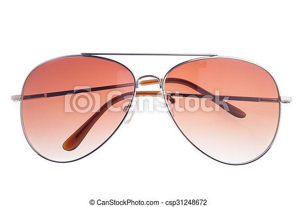 eyeglasses isolated on white background - csp31248672