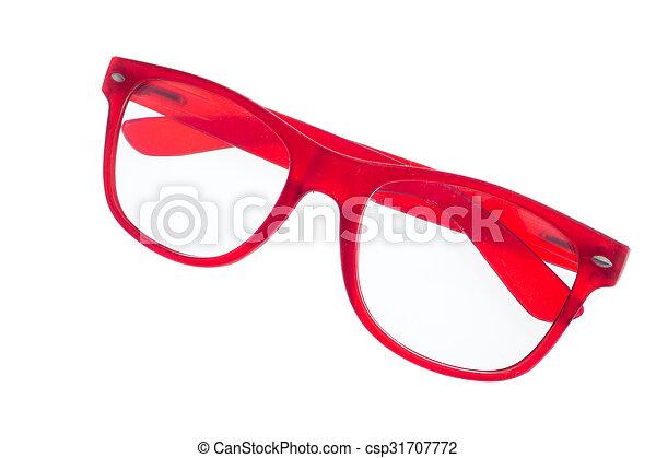 eyeglasses isolated on white background - csp31707772