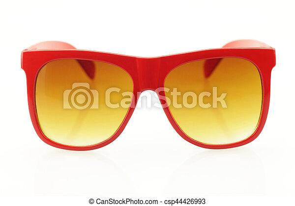 Eyeglasses on white background - csp44426993