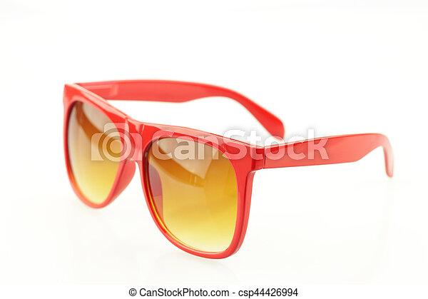 Eyeglasses on white background - csp44426994
