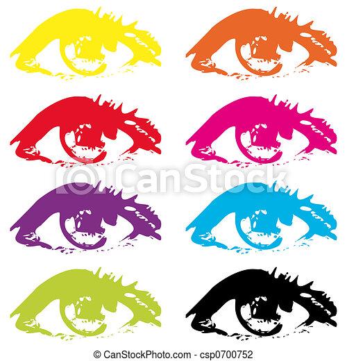 Eyes - csp0700752