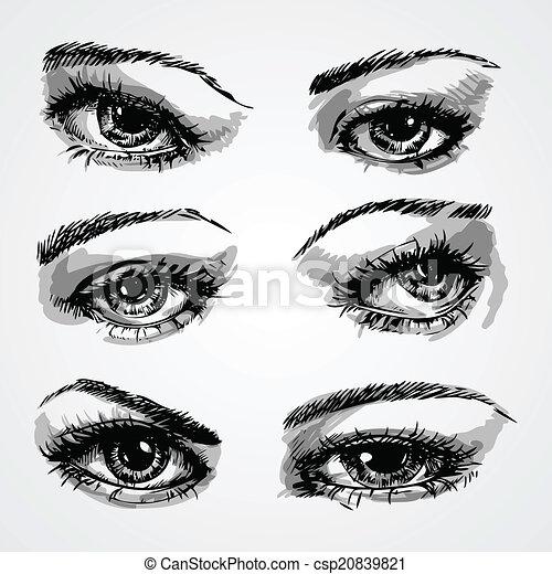 eyes collection - csp20839821