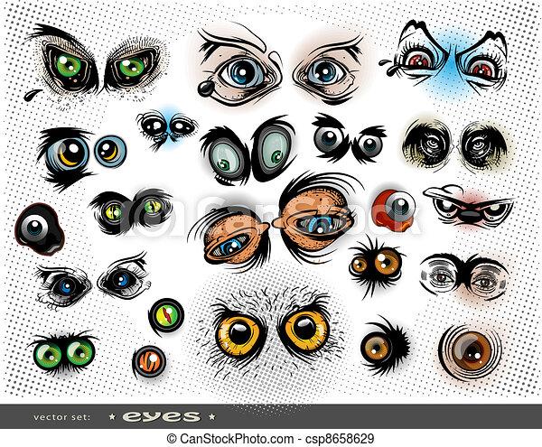 eyes - csp8658629