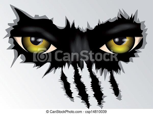 eyes look - csp14810039