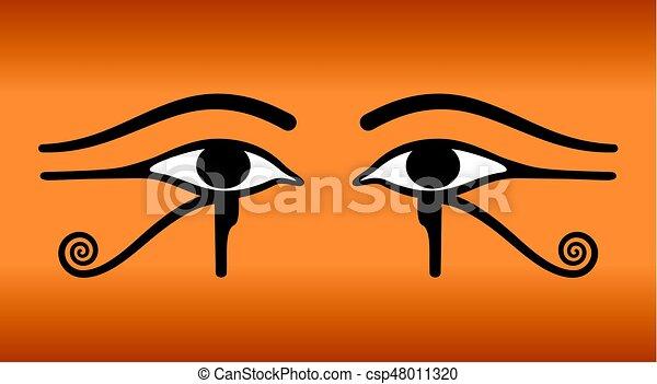 Eyes Of Horus Wedjat Ancient Egyptian Symbol The Eyes Of Horus On