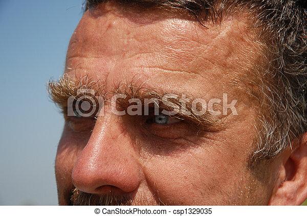 eyes of man - csp1329035