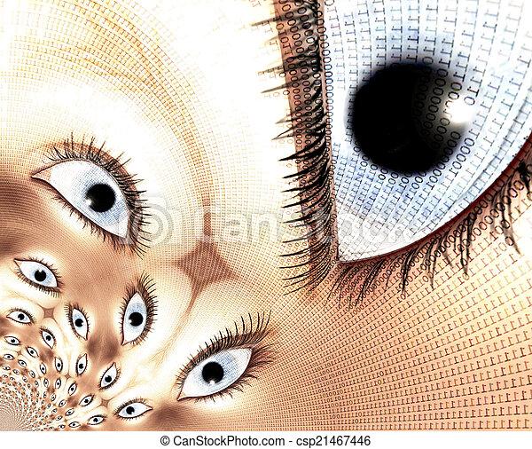 Eyes - csp21467446