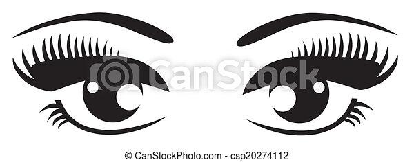 Eyes - csp20274112