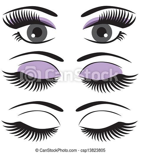 eyes - csp13823805