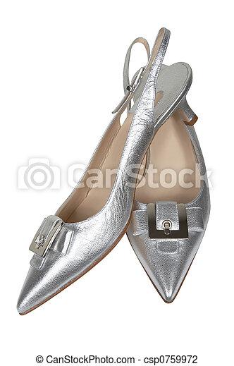 ezüst, női, cipők - csp0759972