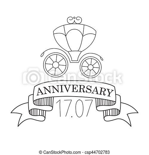 Préférence Vecteur de fête, texte, anniversaire, calligraphic, anniversaire  OB04