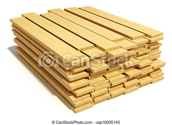 fából való, kazalba rakott, deszkák - csp16005143