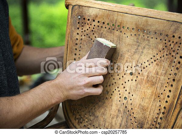 fából való, restaurálás, berendezés - csp20257785