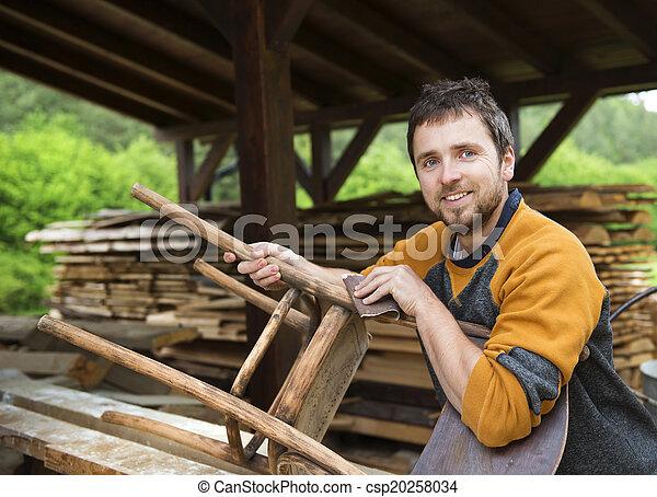fából való, restaurálás, berendezés - csp20258034
