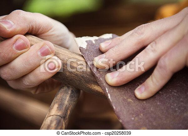 fából való, restaurálás, berendezés - csp20258039