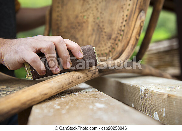 fából való, restaurálás, berendezés - csp20258046