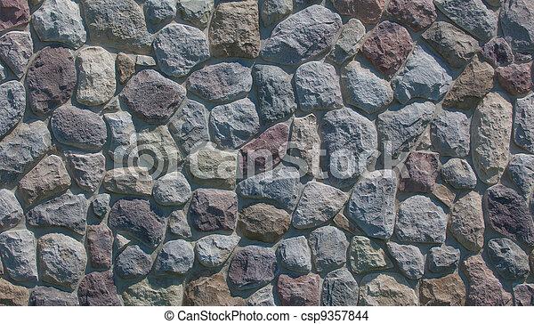fält, sten, bakgrund - csp9357844