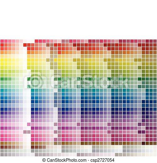 Farbpalette gefliest Hintergrund - csp2727054