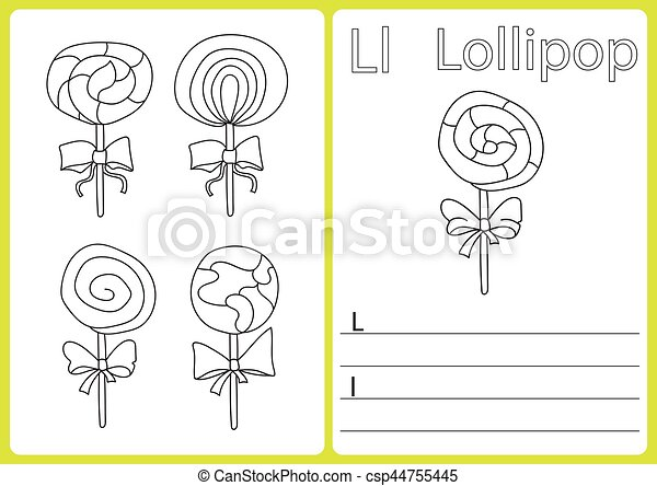 Tolle Lollipop Färbung Seite Zeitgenössisch - Ideen färben ...
