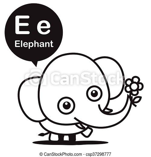 Schön Baby Elefanten Färbung Seiten Bilder - Beispielzusammenfassung ...