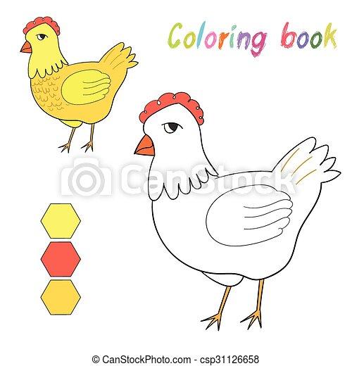 Ungewöhnlich Henne Färbung Seite Galerie - Ideen färben - blsbooks.com