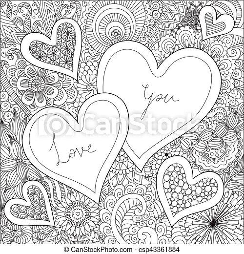 Berühmt Valentines Bilder Zu Färben Bilder - Ideen färben - blsbooks.com