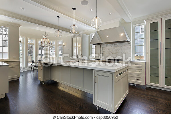 färsk, konstruktion, nymodig, kök, hem - csp8050952