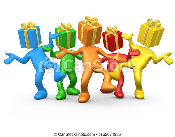 fête, anniversaire - csp2074935