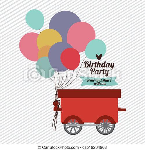 fête, anniversaire - csp19204963