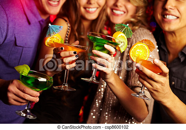fête, cocktail - csp8600102