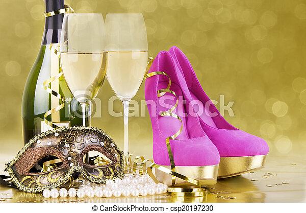 fête, concept, événement - csp20197230