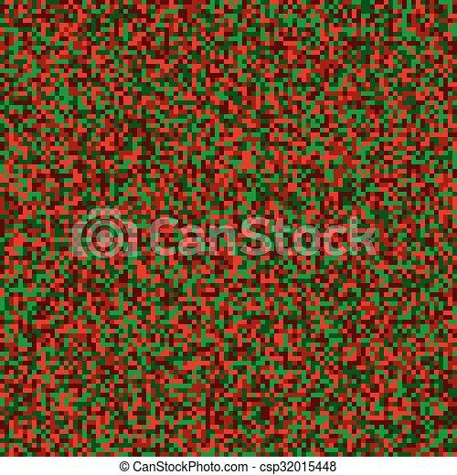 Fête Modèle Seamless Pixel Couleurs Numérique Noël