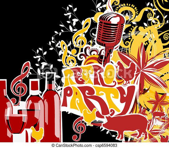 fête - csp6594083
